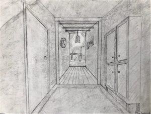 Tom Kokernak 2, Drawing 1
