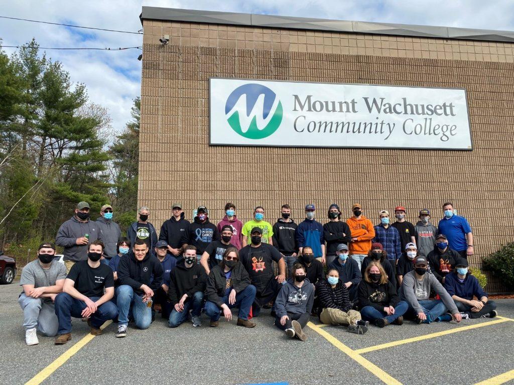 MWCC Automotive Students at Automotive Technology Facility