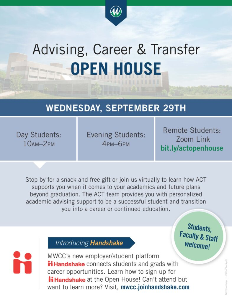 Advising Career and Transfer Open House