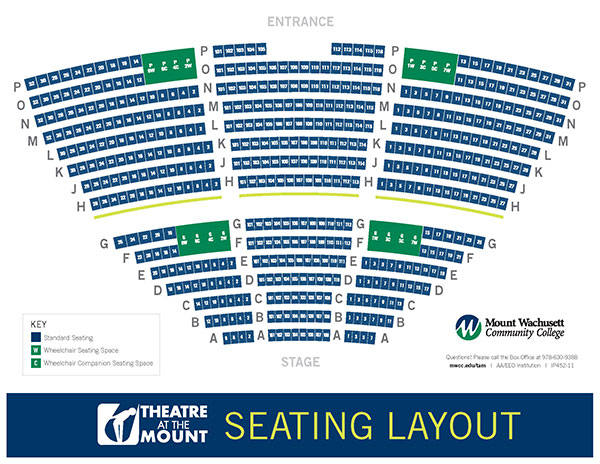 Open Graphical Representation of Seating Chart