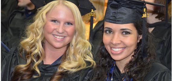 Nursing Students Chelsea L. Johnson and Thaissa dosSantos