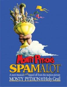 Monty Python's SPAMALOT logo