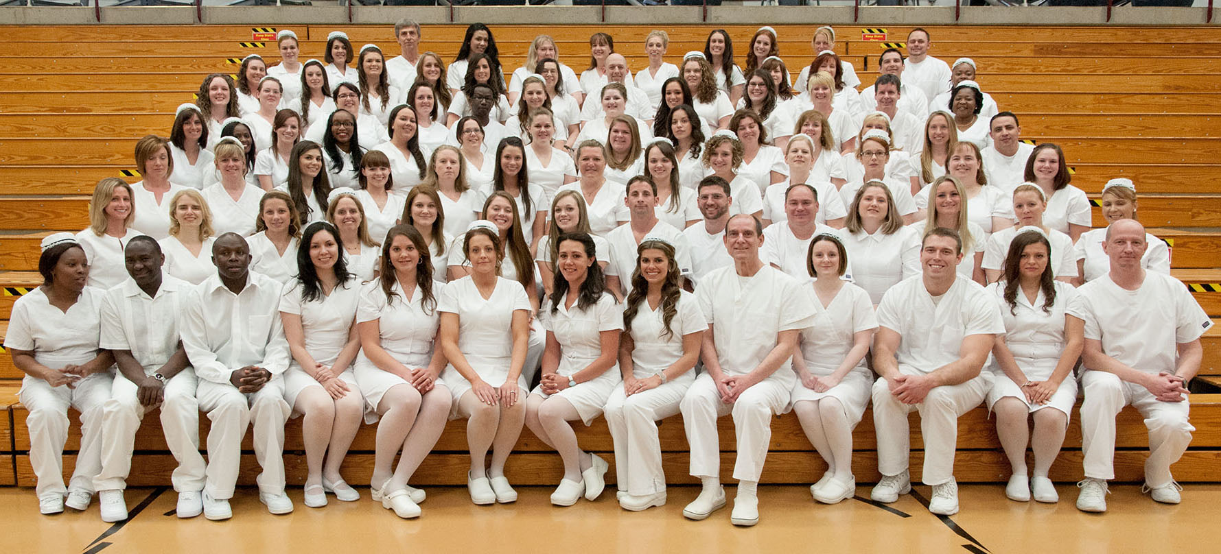 Graduates Welcomed Into The Nursing Profession During 2014