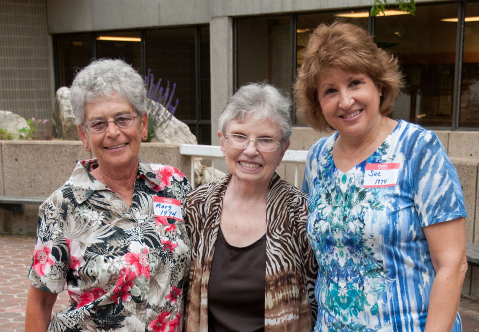 Mary Bergevin, Paula D'Entremont, and Sue Hermanson