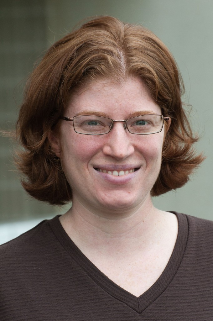 Headshot of Math profesor, Aliza Miller
