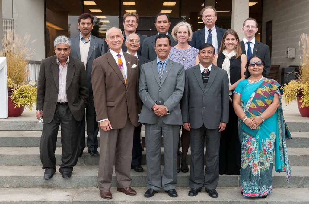 Administrators from Nepal's Far-Western University selected MWCC as one of a handful of stops on a multi-college US tour.