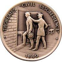 "Coin - 1849 Thoreau's ""Civil Disobedience"""