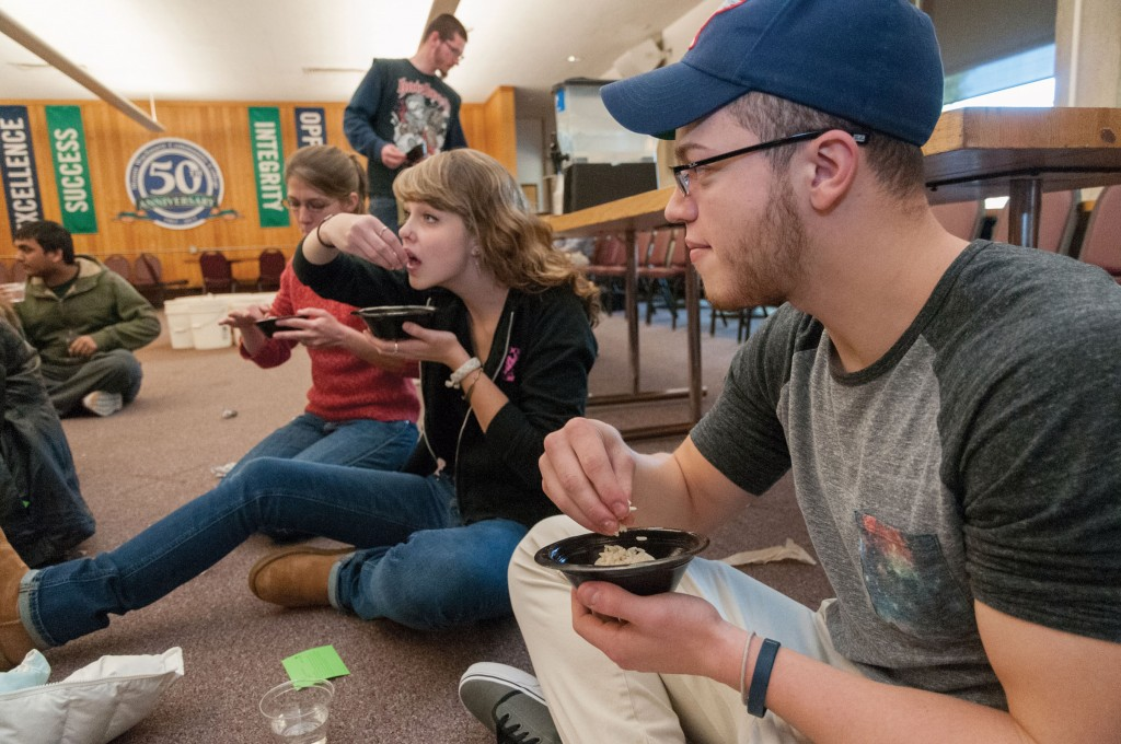 hunger banquet majority