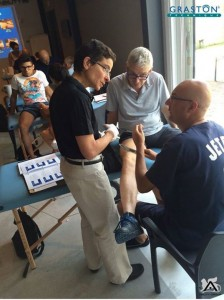 Jackie Shakar, chair of MWCC's Physical Therapist Assistant program, recently returned from a teaching opportunity in Italy.