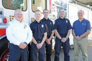 Lunenburg fire dept  MWCC students 1