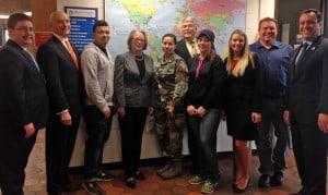 Congresswoman Niki Tsongas visit to Vet Center