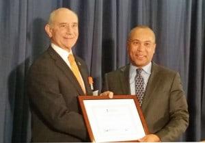 President Asquino & Deval Patrick Boston Foundation