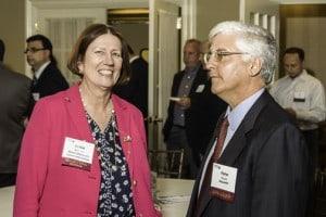 Jackie Belrose and Peter Russo of MassMEP