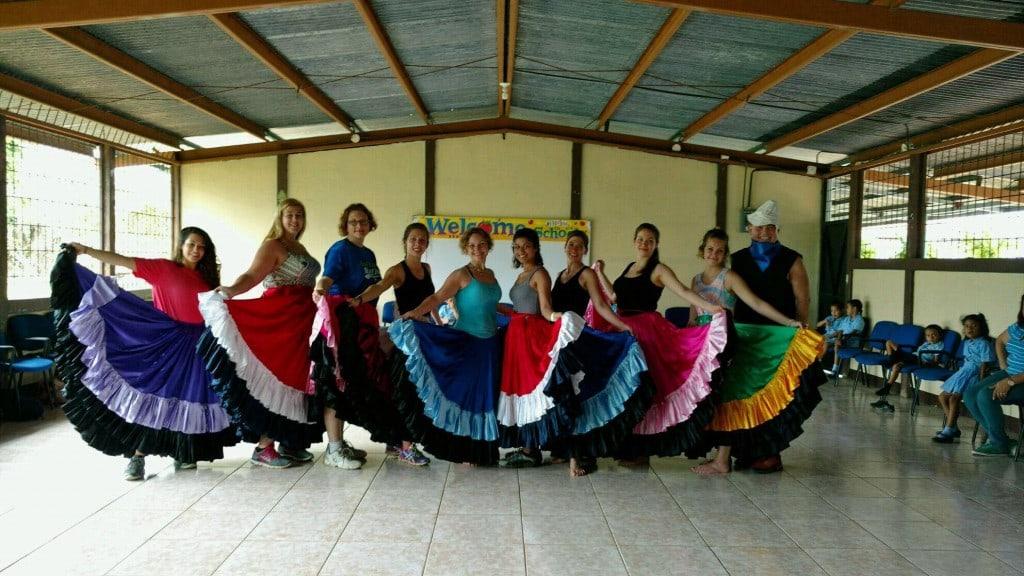 Costa Rica school visit 1