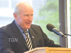 Gardner News photo June 25 2016 Senator Brewer