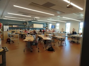 New lab classrooms in Asquino Science Center