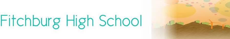 Fitchburg High School banner