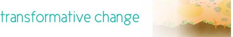Transformative Change Banner