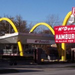 Vintage McDonalds Exterior
